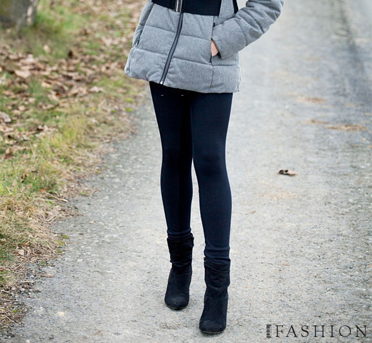 Stay Warm And Cozy Fleece Lined And Thermal Leggings